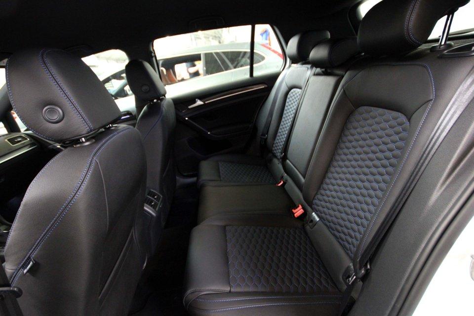 Volkswagen golf 7 gte lederen autobekleding for Lederen interieur